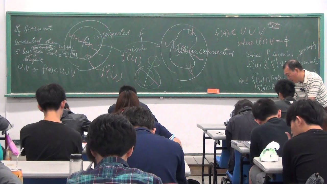 數學新世界--CA談數學--20141104 拓樸學 Part2 - YouTube