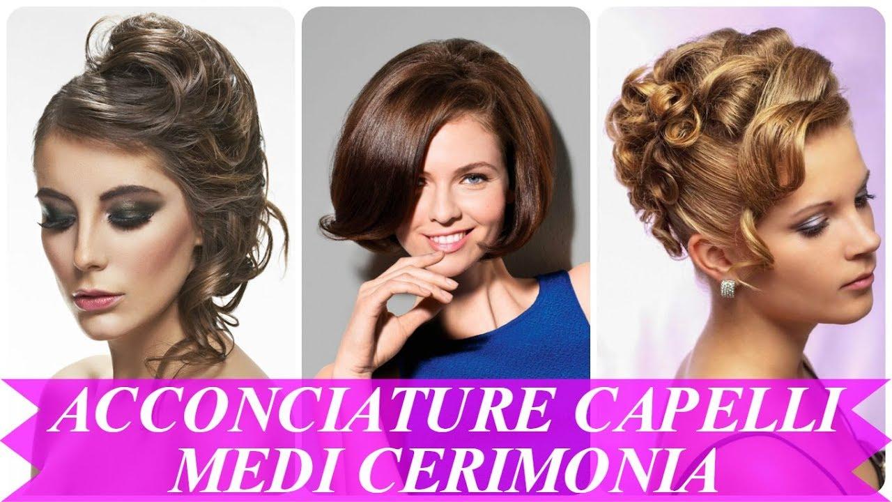 Acconciature capelli medio lunghi per cerimonia – Tagli di capelli ... 4d6f8e000df5