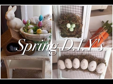 Easy Spring D.I.Y's home decor 2017