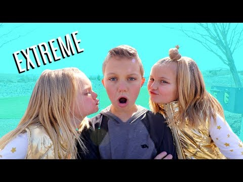 KISS ME CANDY CHALLENGE! | Extreme Edition