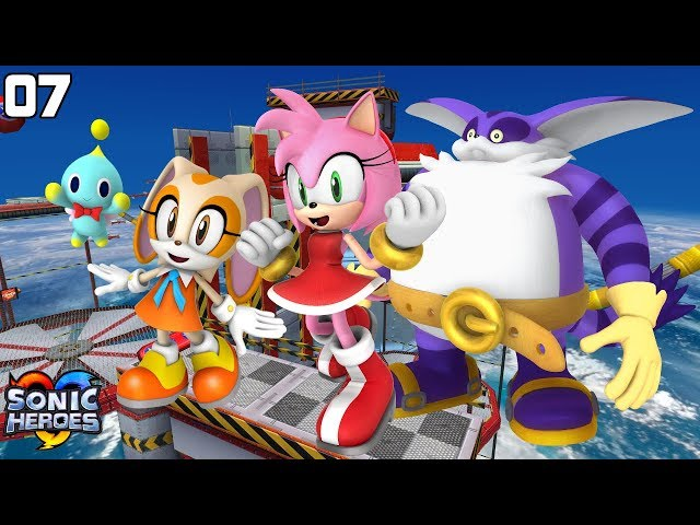 Sonic Heroes (GC) [4K] - Team Rose (7/7)
