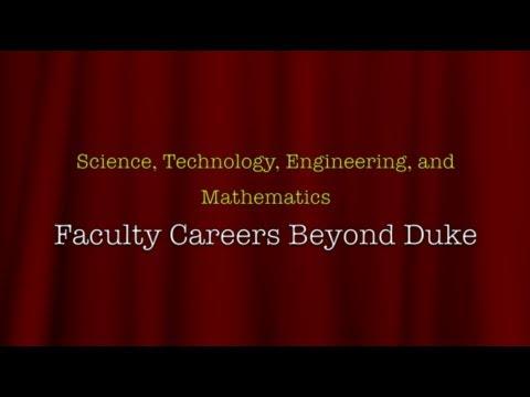 9/17/2013 STEM Faculty Careers Beyond Duke