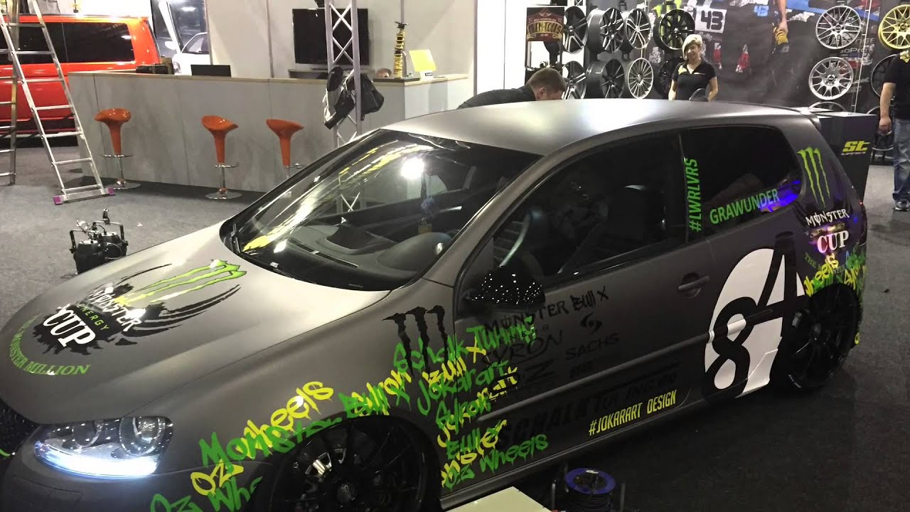 Golf Gti Hd Wallpaper Car Wrapping Monster Vw Golf V Avery Supreme Charcoal