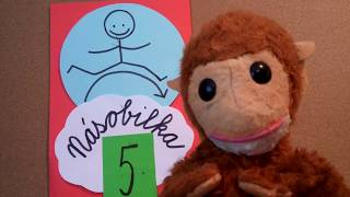 Škola HOPLÁ – NÁSOBENÍ (5) S OPIČKOU ÉPŮ – učíme se s úsměvem