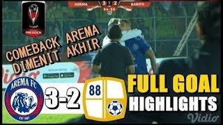 Download Video Arema FC vs Barito Putera 3-2 FULL GOLL & Highlights Piala Presiden 2019 MP3 3GP MP4