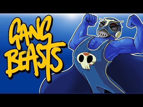 Gang Beasts Ep. 4 (Funniest Game Ever!) I CAN FLY!!!!!