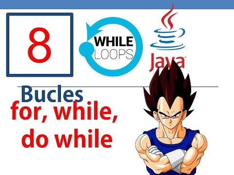 Tutorial Java - Ciclos con java - for, while, do- while (Nº 8)- Rápido y con netbeans