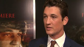 Miles Teller is 'Enjoying' Engagement To Fiance Keleigh Sperry (Exclusive)