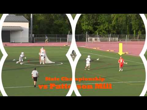 Marc Badger - Senior lacrosse highlights 2013 - Fallston High School