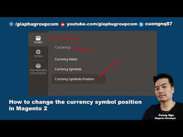 How to change currency symbol position in Magento 2 (Left to Right)