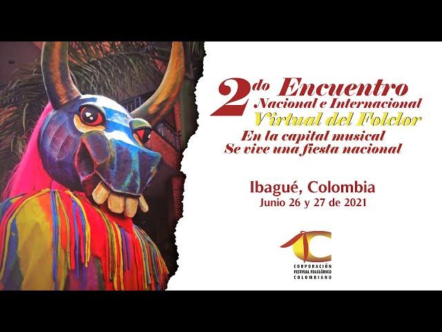 Comercial HD   2do Encuentro Nacional e Internacional Virtual del Folclor