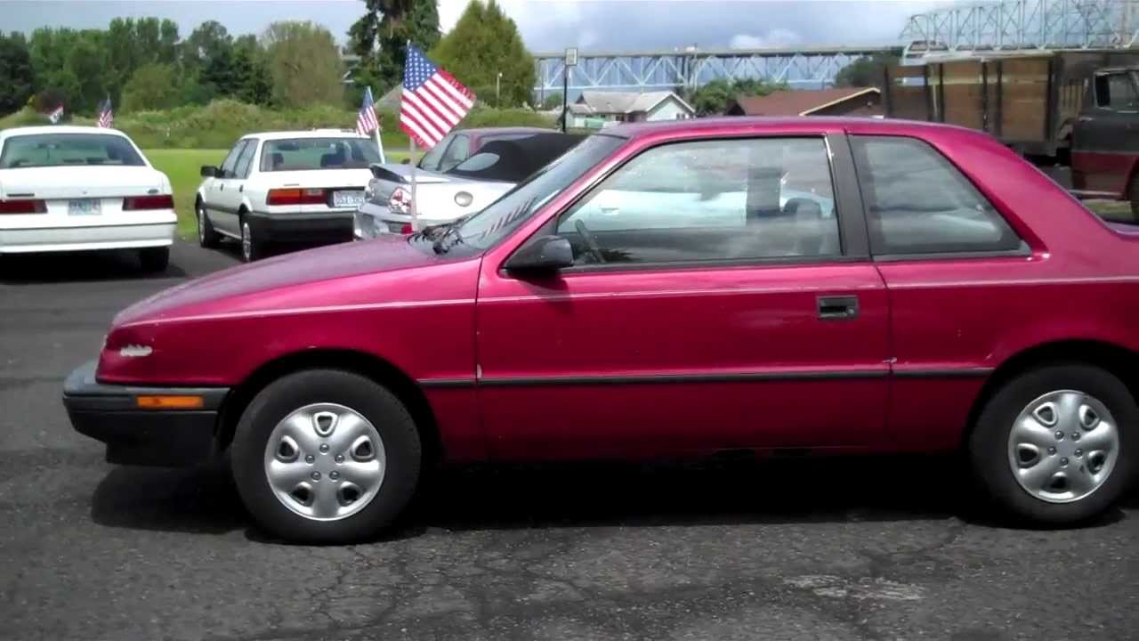 1993 DODGE SHADOW SOLD!! - YouTube