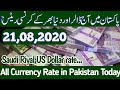 Today's Open Market Currency Rates in Pakistan  PKR Exchange Rates  12 June 2020  Hot News Studio
