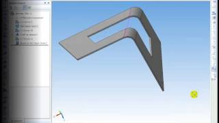 САПР Компас-3D. Элементы листового тела, гибка(, 2014-09-04T06:53:51.000Z)
