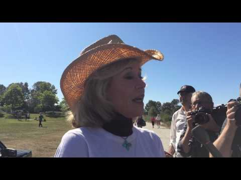 Jane Fonda on climate change at Toast the Coast event in Vancouver