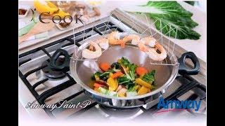 Супер крутая сковорода BОК - iCook от Amway.