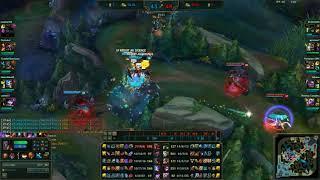 jinx incredible late game aoe damage :)