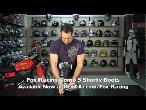 Fox Racing Comp 5 Boots Review At RevZilla.com