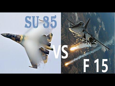 Sukhoi Su-35 Vs. McDonnell Douglas F-15 Eagle