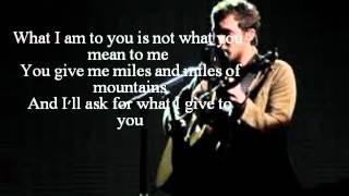 Phillip Phillips 34 Volcano 34 lyrics Studio recording