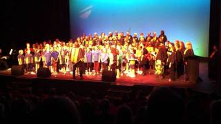 DesertSong combined choir sings