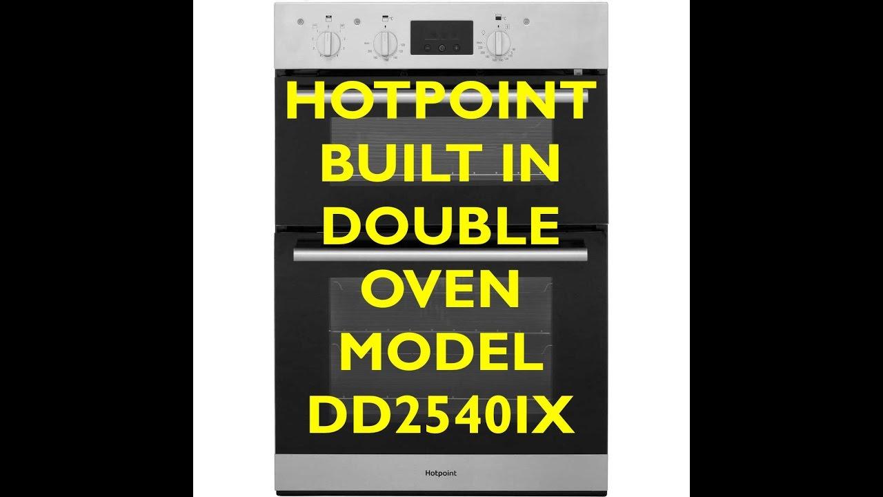 Hotpoint Built In Double Oven Model Dd2540ix Youtube Neff U15m52n3gb Wiring Instructions