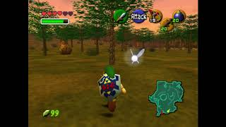 How to deal with small spinning dudes - Zelda:  Ocarina of Time
