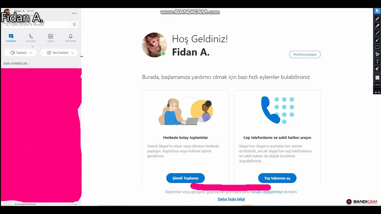 Skype ismim/Skype Nasıl kullanılır/
