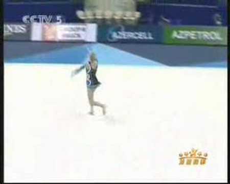 Carly Orava World Championships Baku 2005 Clubs AA