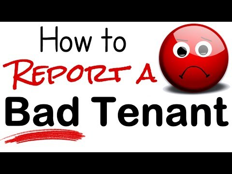 How To Report A Bad Tenant | Landlord Credit Reporting