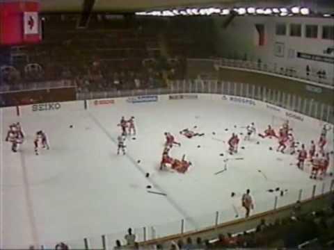 Canada Vs Solviot Union (ice hockey brawl)