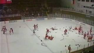 Canada Vs Solviot Union (ice hockey brawl)