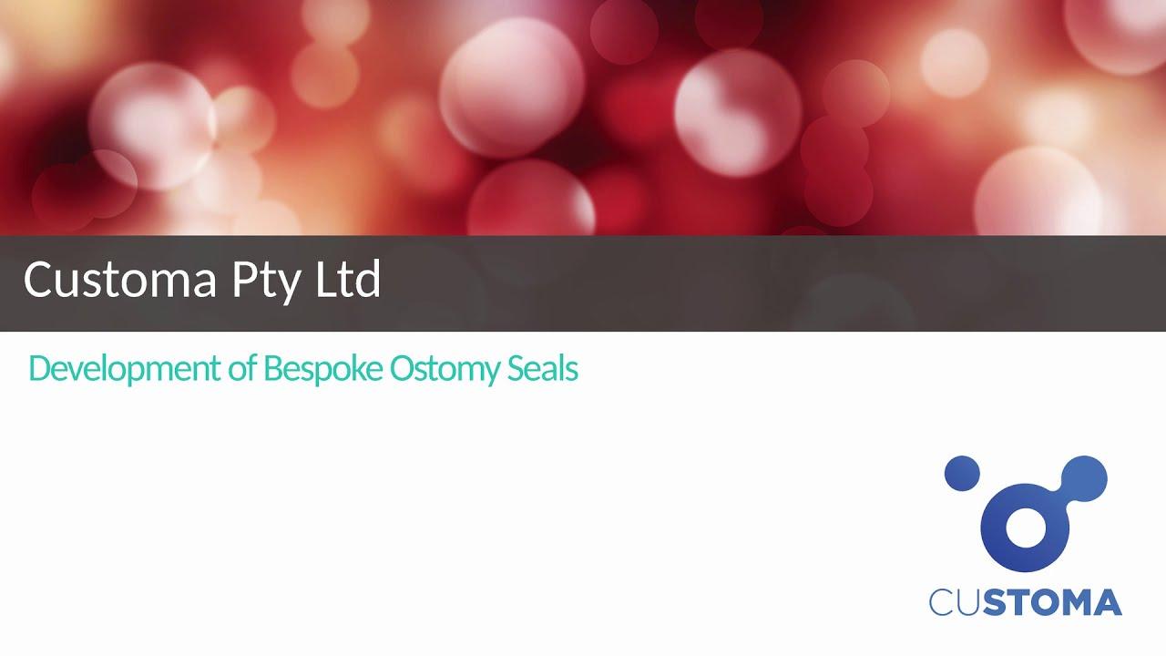Customa Pty Ltd develops bespoke ostomy seals with the help of iPREP Biodesign