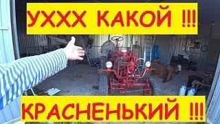 ТЕПЕРЬ НЕ СТЫДНО ВЫЕЗЖАТЬ / Помыл трактор / Покрасил трактор / Самодельный трактор / Семья в деревне