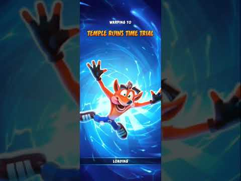 Temple Ruins Relic Time Trial - 00:36:80 (WR) - Crash On The Run