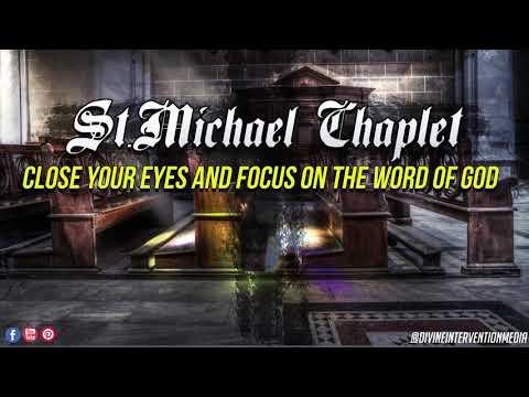 St. Michael Chaplet Prayer (AUDIO) PRAY ALONG