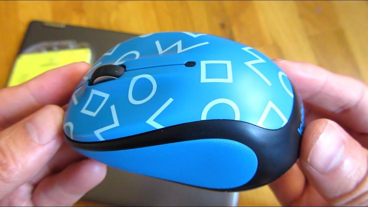 Logitech m325c Mouse | Up Close Views | Wireless Optical