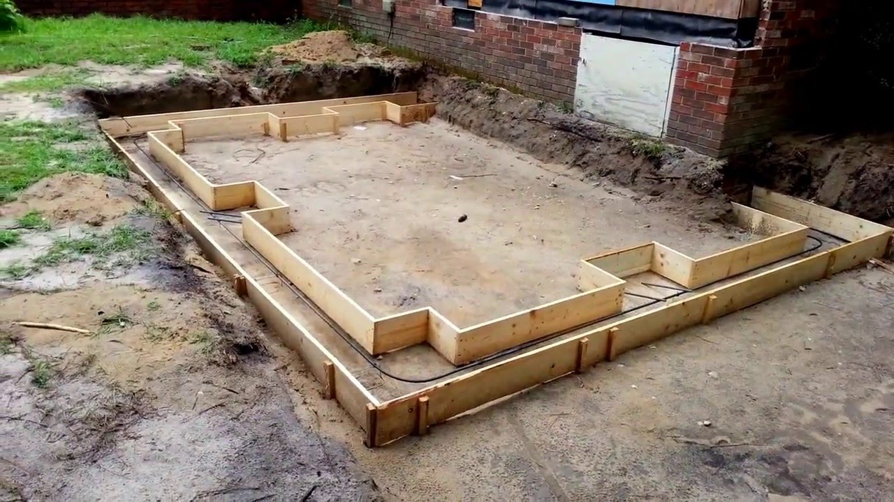 How To Make A Foundation For A Room Addition