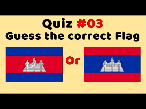 Quiz : Which Flag Is Correct? (Part 3)
