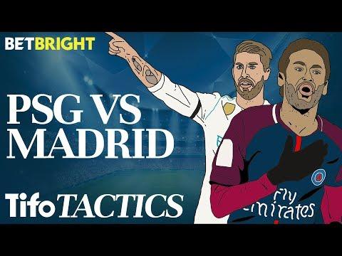 How do Real Madrid stop Neymar & PSG?   Champions League Tactics