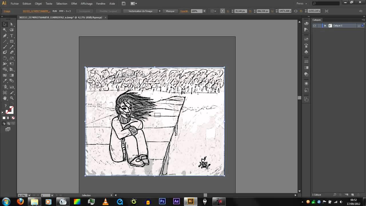 Illustrator Vectoriser Un Dessin