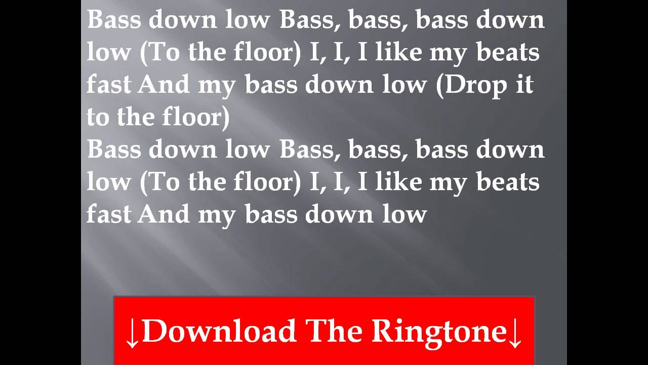 Superb Dev Featuring The Cataracs   Bass Down Low Lyrics