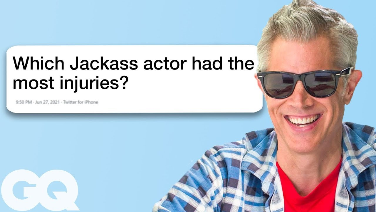 Johnny Knoxville Goes Undercover on YouTube, Twitter and Instagram
