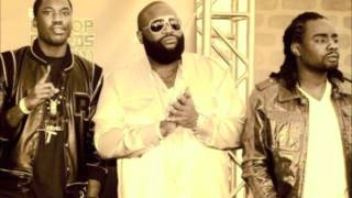Download Rick Ross - Pandemonium ft Meek Mill & Wale Lyrics MP3 song and Music Video