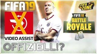 OFFIZIELL!? ● Kein VIDEOBEWEIS in FIFA19 & kommt ein BATTLE ROYALE Modus? | FIFAZONE