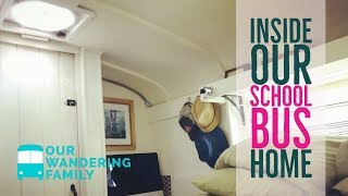 Inside Our Home on Wheels - School Bus Converted into an RV