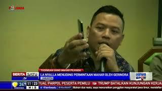 La Nyalla Tuding Prabowo Minta Uang Miliaran Rupiah