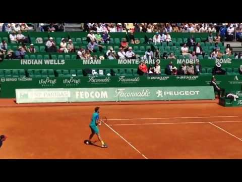 Stan Wawrinka LOSES 3RD ROUND 2017 Monte Carlo Rolex Masters