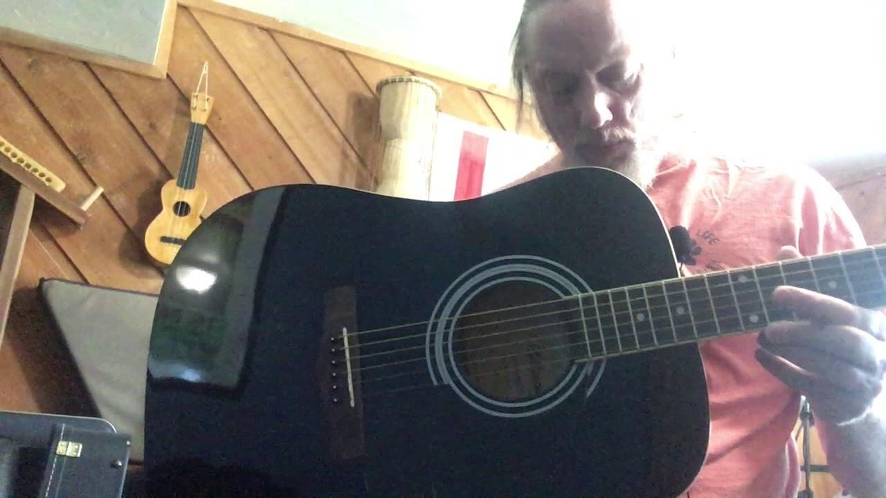 Silvertone SD3000 Acoustic Dreadnought Guitar