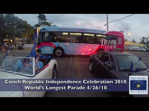 Conch Republic Independence Celebration 2018 - World's Longest Parade